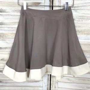 Modcloth Comme Toi Skater Skirt